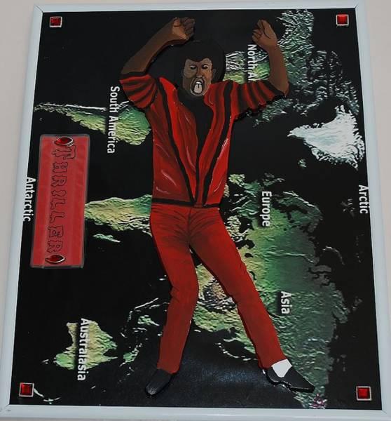 Mj Thriller Poster