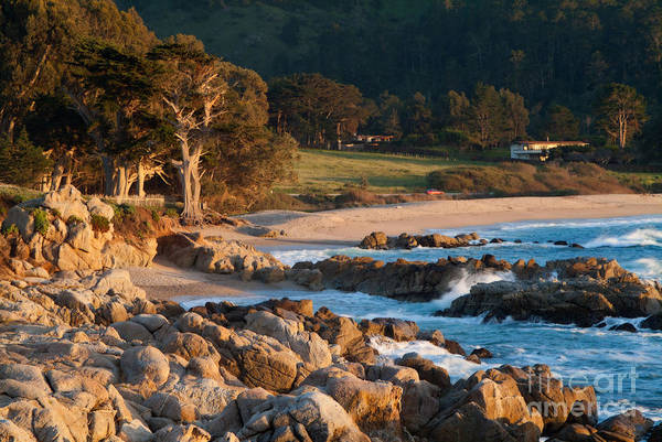 Monastery Beach In Carmel California Poster