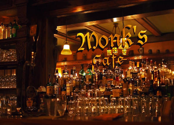 Monks Cafe Poster