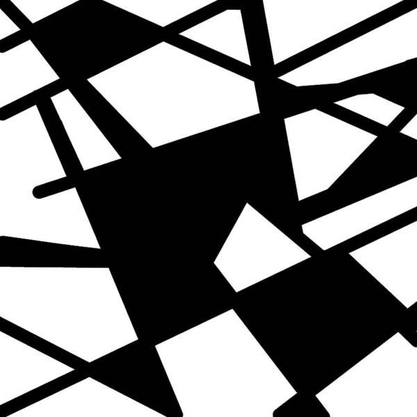 Monochrome New1builder3 Glyph 5 Poster