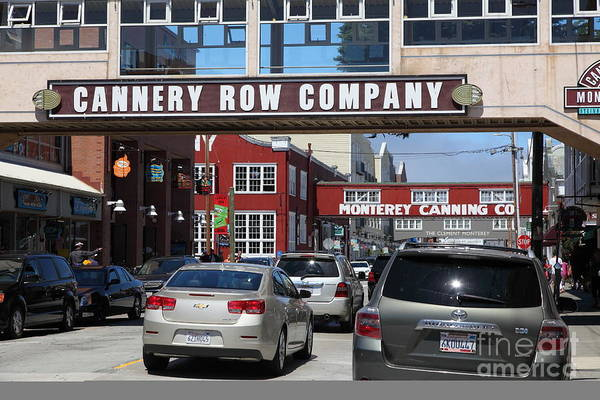 Monterey Cannery Row California 5d25030 Poster