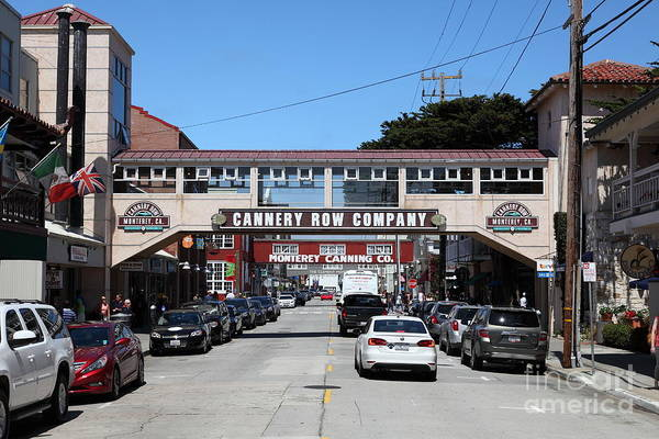Monterey Cannery Row California 5d25032 Poster