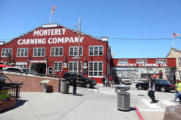 Monterey Cannery Row California 5d25037 Poster