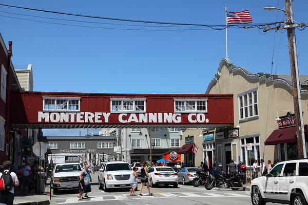 Monterey Cannery Row California 5d25038 Poster