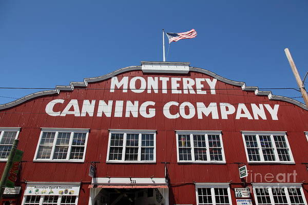 Monterey Cannery Row California 5d25040 Poster