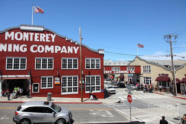 Monterey Cannery Row California 5d25042 Poster
