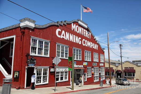 Monterey Cannery Row California 5d25045 Poster