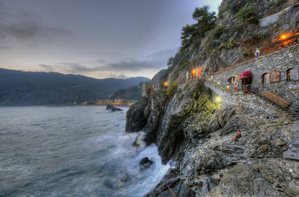 Monterosso At Sunset Poster