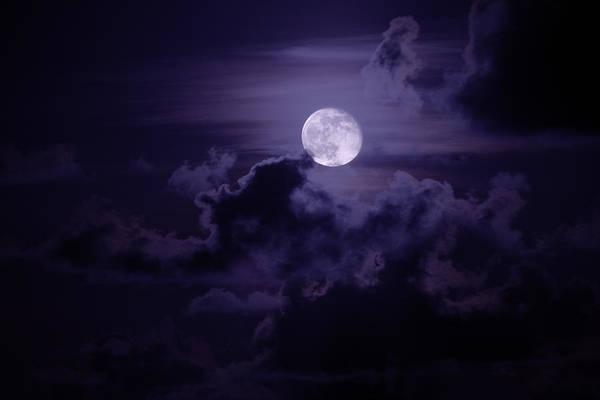 Moody Moon Poster