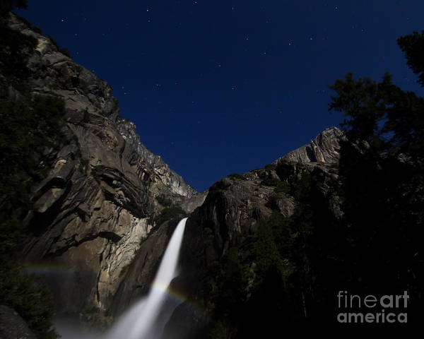 Moonbow And The Big Dipper Poster