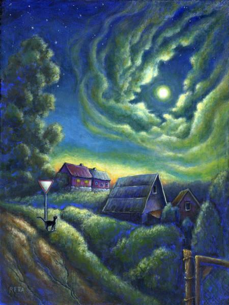 Moonlit Dreams Come True Poster
