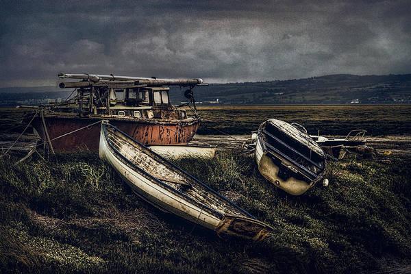 Moonlit Estuary Poster