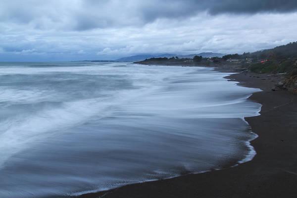 Moonstone Beach Surf 2 Poster