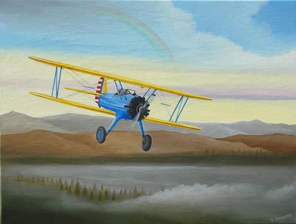 Morning Flight Poster