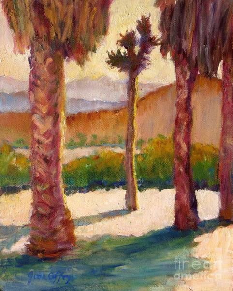Morning Light On Joshua Tree Poster