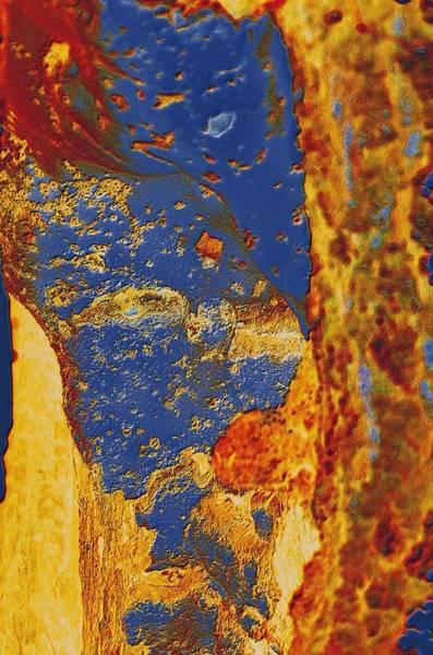 Mortal Bleu Flambe Poster