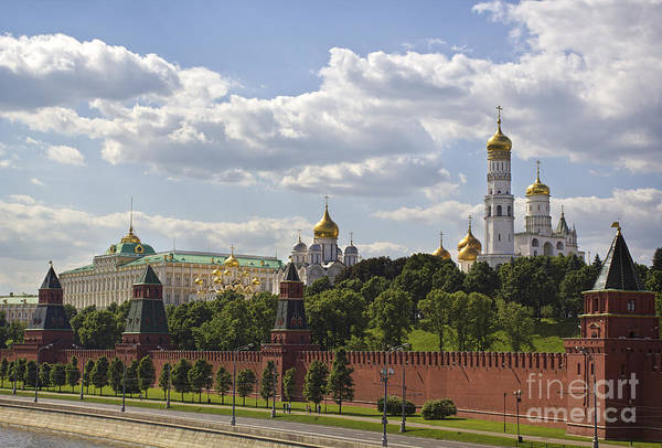 Moscow Kremlin Poster