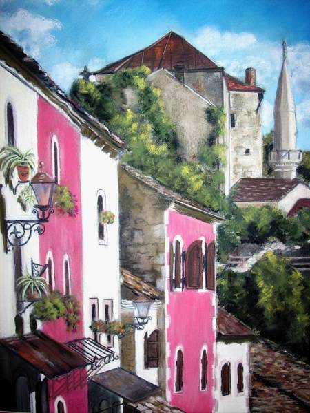 Mostar Old Town Poster