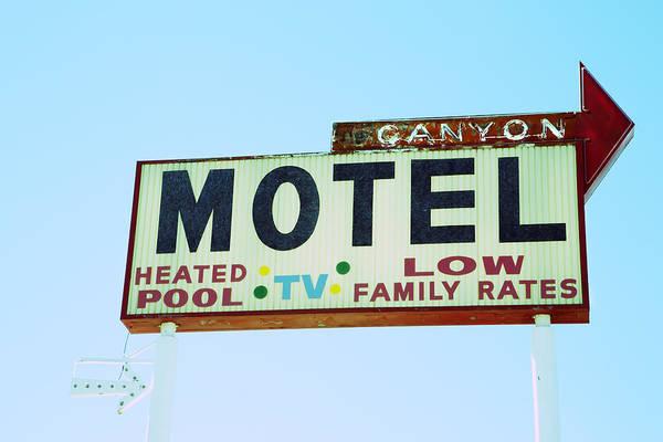 Motel Sign Poster