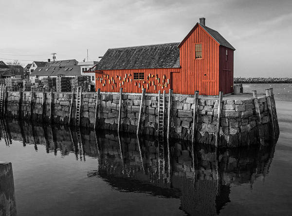 Motif No 1 Black And White Poster