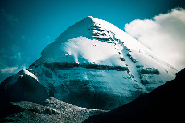 Mount Kailash Home Of The Lord Shiva Poster