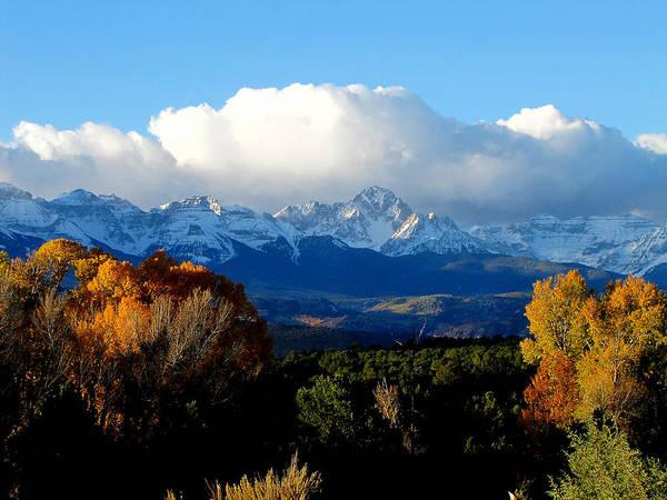 Mount Sneffels Colorado Poster