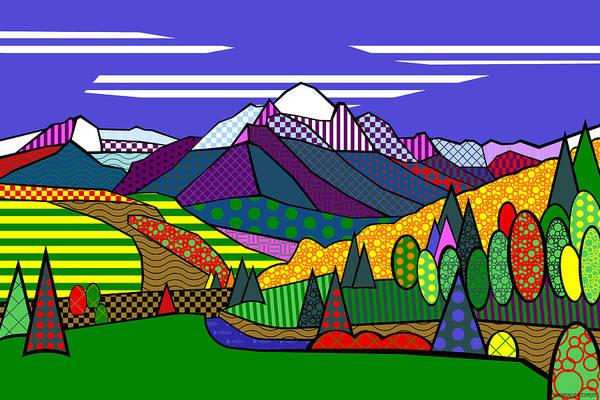 Mount Sneffels Poster