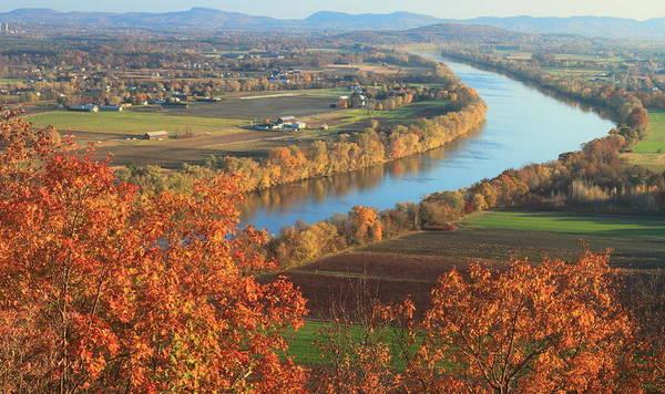 Mount Sugarloaf Connecticut River Autumn Poster
