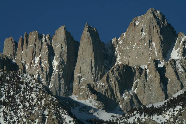 Mount Whitney From Alabama Hills Poster