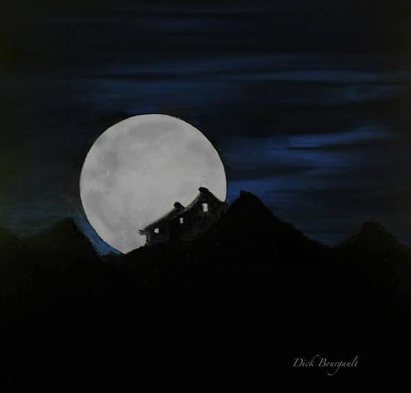 Mountain Monastery Poster