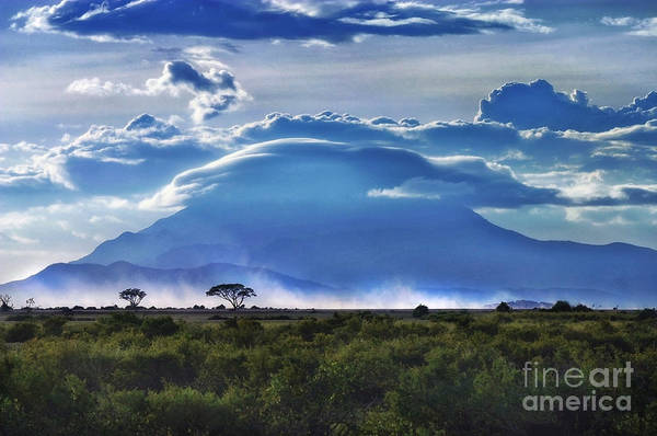 Poster featuring the photograph Mt Kilimanjaro by Kate McKenna