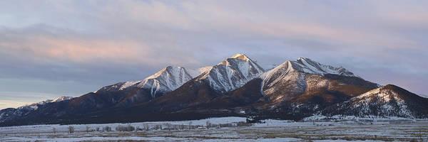 Mt. Princeton Panorama Poster