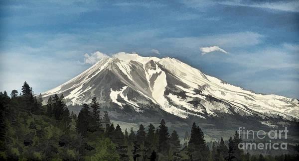 Mt. Shasta Poster