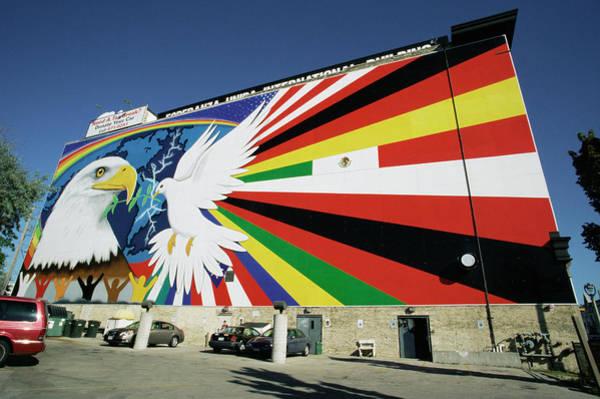 Mural Of Peace Poster