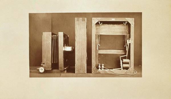 Muybridge Motion Study Camera Poster