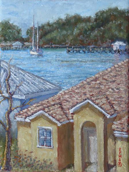 Marsh Harbour Martini Poster