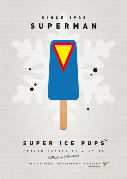 My Superhero Ice Pop - Superman Poster