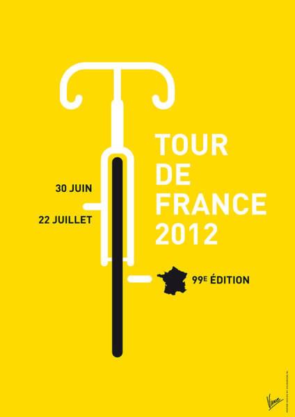 My Tour De France 2012 Minimal Poster Poster