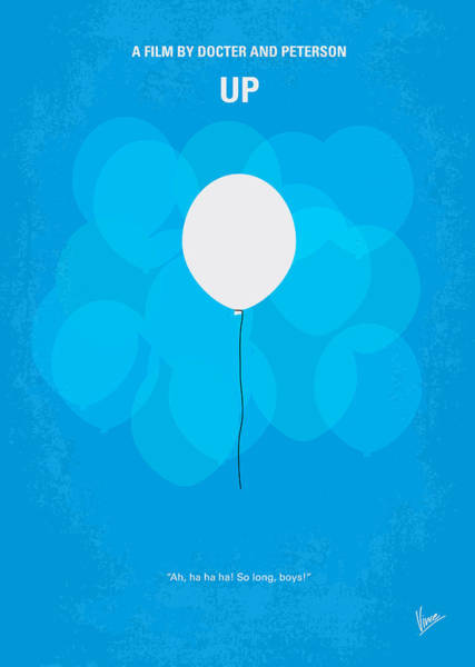 My Up Minimal Movie Poster Poster