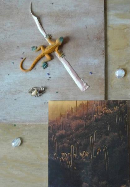 Mystical Desert  B Poster