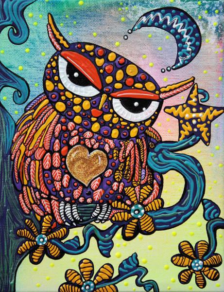 Mystical Owl Poster