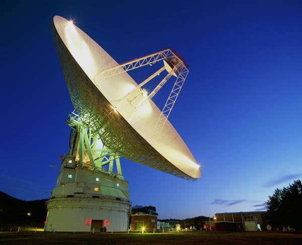 Nasa Deep Space Tracking Station Poster