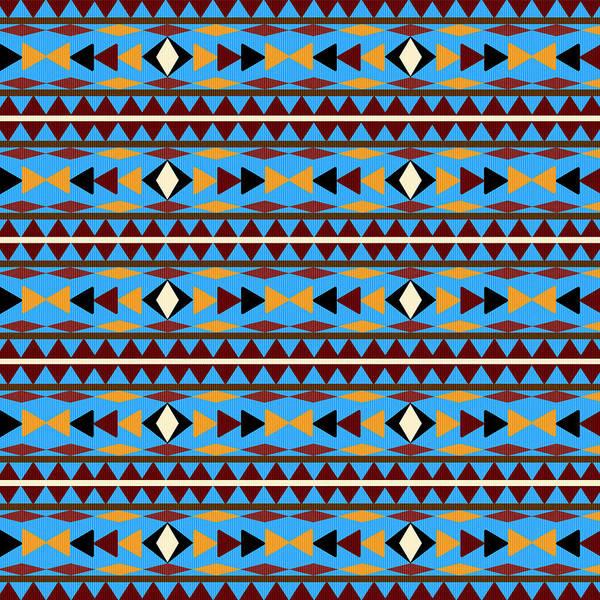 Navajo Blue Pattern Poster