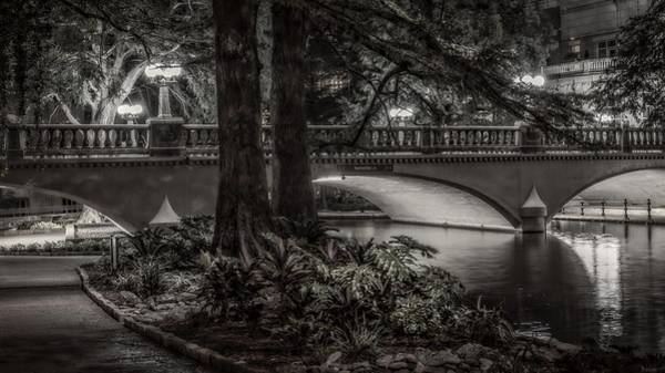 Navarro Street Bridge At Night Poster