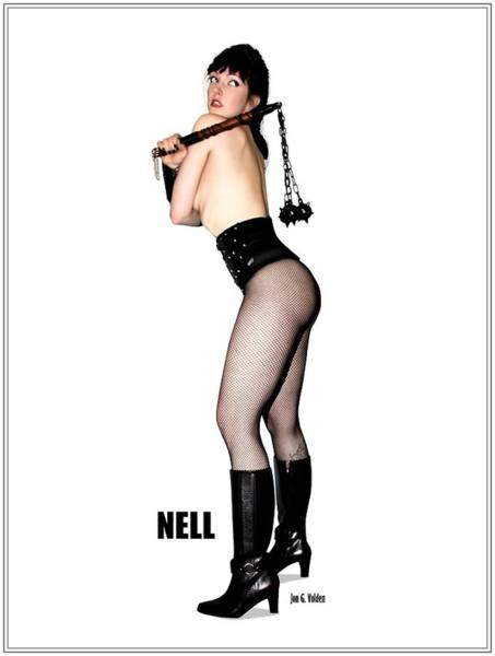 Nell Vgirl Pinup Poster
