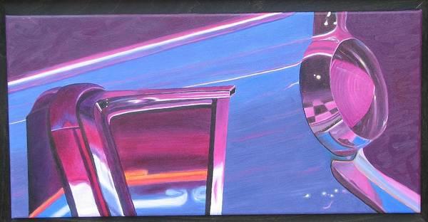 Neon Reflections IIi Poster
