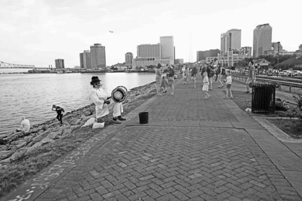 New Orleans Riverwalk Poster