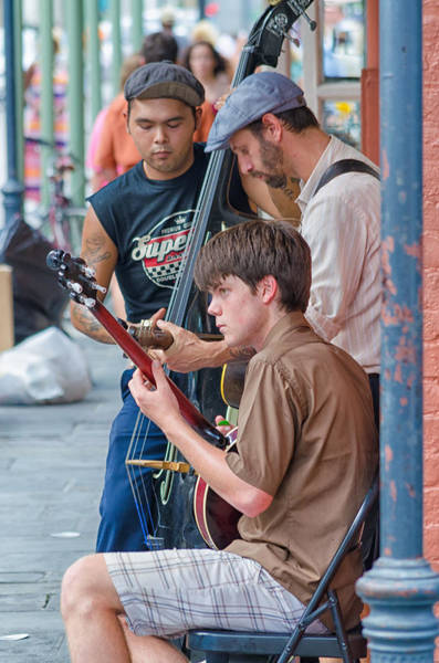New Orleans Street Trio Poster