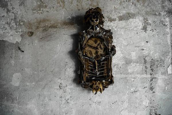 New Orleans Voodoo Bone Clock Poster