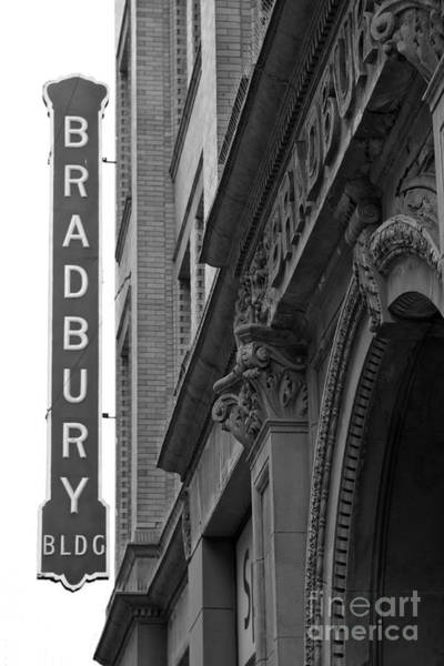 New Photographic Art Print For Sale Bradbury Building 10 Downtown La Poster